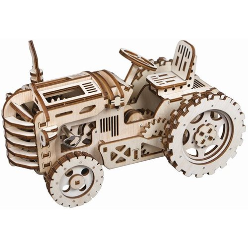 Robotime Tractor LK401 - Wooden Model Kit
