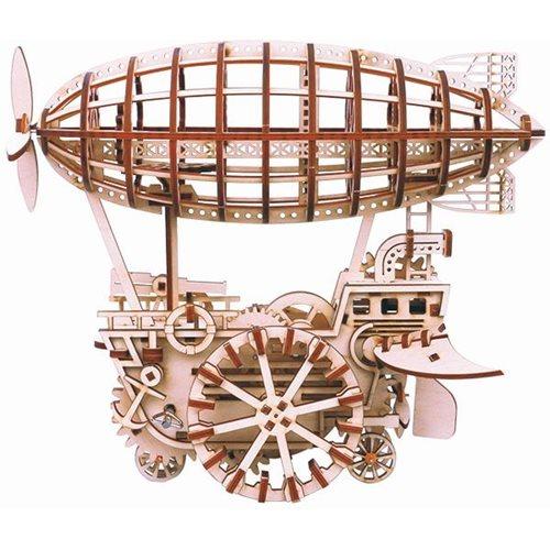 Robotime Luchtschip LK702- Houten modelbouw