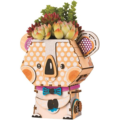 Robotime Koala FT732 - Wooden Model Kit - Flower Pot - DIY
