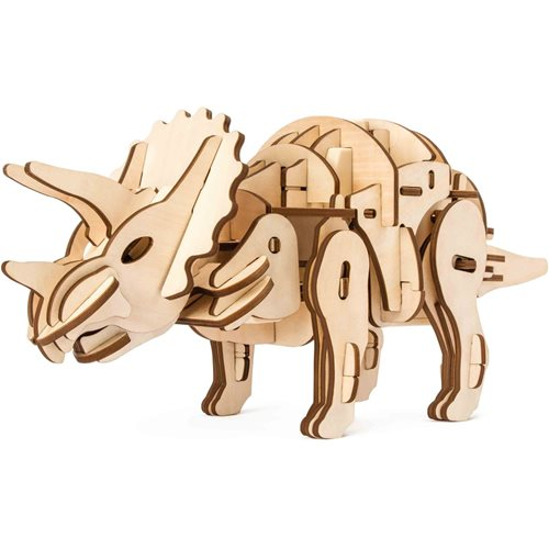 Robotime Triceratops D400 - Wooden Model Kit - R/C