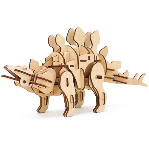 Robotime Stegosaurus D410 - Wooden Model Kit - R/C