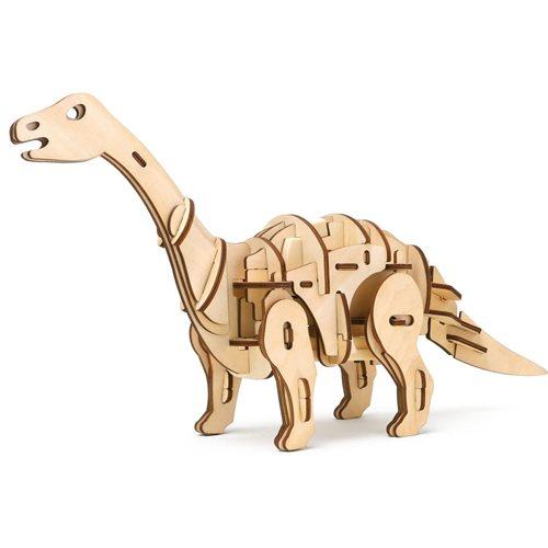 Robotime Apatosaurus D420 - Wooden Model Kit - R/C