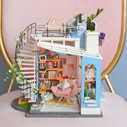 Robotime Dora's Loft DG12 - Houten modelbouw - Poppenhuis met LED licht - DIY