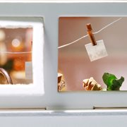 Robotime Jason's Kitchen DG105 - Wooden Model Kit - Dollhouse with LED Light - DIY
