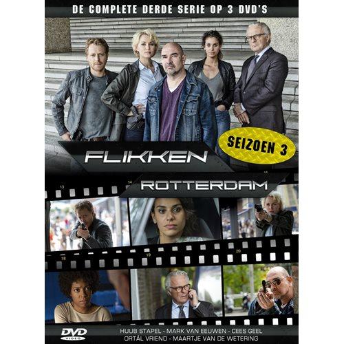 Flikken Rotterdam Seizoen 3 - DVD