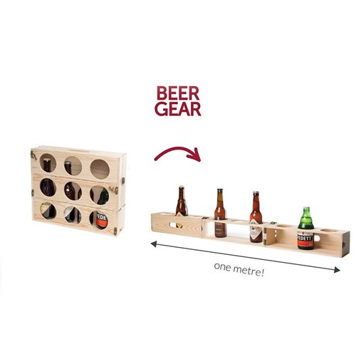 Rackpack Beer Gear - Beer box and Beer meter