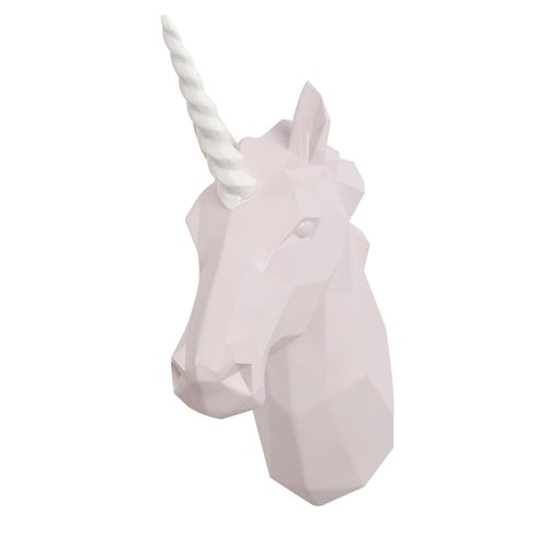 Walplus Unicorn - Wall Decoration - Geometric - Pink/White