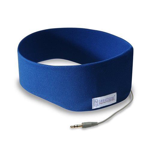 SleepPhones® Classic Breeze Royal Blue - Large/Extra Large