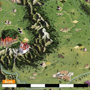 Giftio - Kraswereldkaart Europa - Platina - 90x66 cm