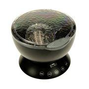 United Entertainment Ocean Projector Pot - met Afstandsbediening - Zwart