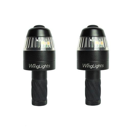 CYCL WingLights360 Magnetisch - LED-Blinker & Positionsleuchten für Fahrräder - Schwarz