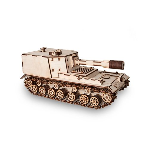 Eco-Wood-Art Tank SPA 212 - Wooden Model Kit