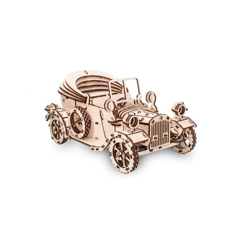 Eco-Wood-Art Retro Car - Wooden Model Kit