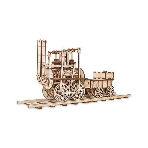 Eco-Wood-Art Locomotief - Houten Modelbouw