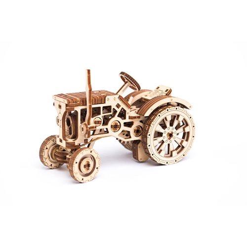 Wooden City Tractor - Houten Modelbouw