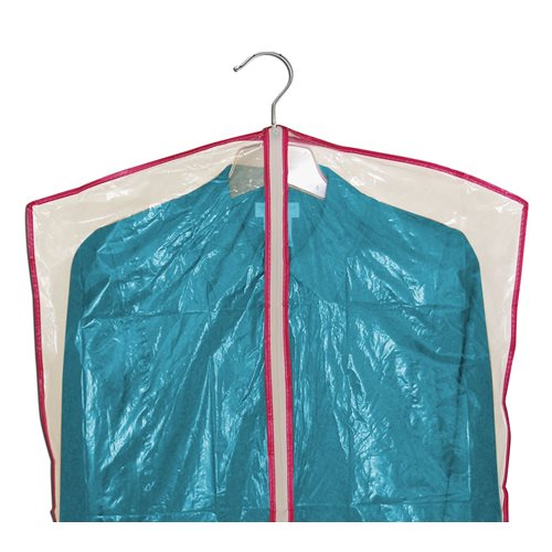 IdeaWorks Garment Bags with Zipper - set of 13