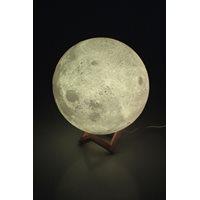 United Entertainment 3D Maan Lamp Met Afstandsbediening - 16 kleuren - XXL - Ø 28 cm