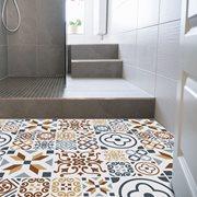 Walplus Azulejo Melange - Home Decoration Sticker - Floor Sticker/Wall Sticker - 120x60 cm