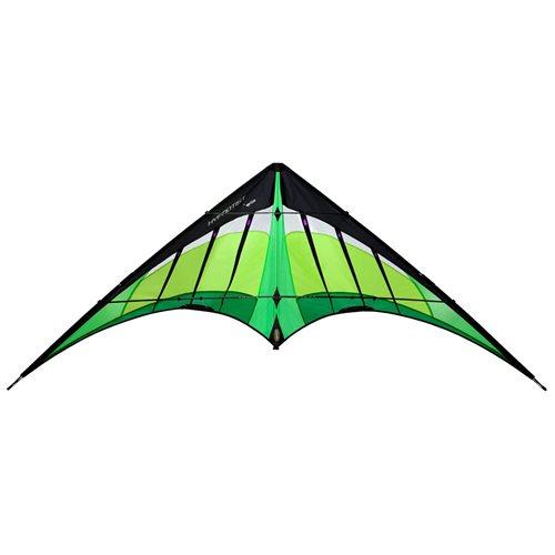Prism Hypnotist Citrus - Stunt kite - with DVD - Green