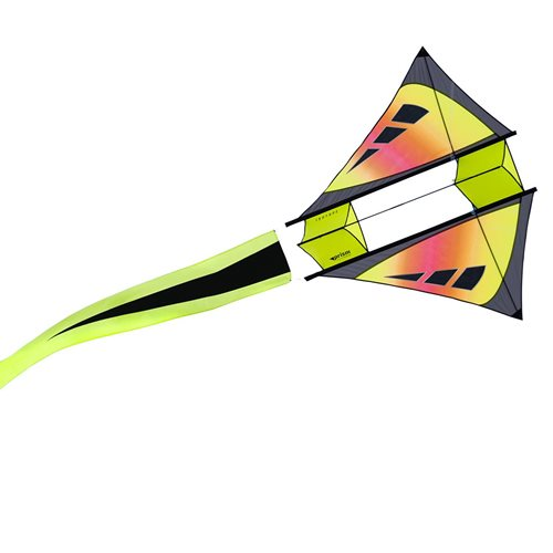 Prism Isotope Sunrise - Single Line Kite - Red
