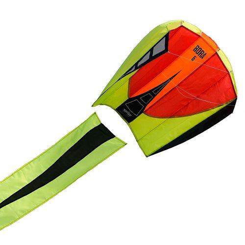 Prism Bora 5 Blaze - Vlieger - Eenlijner - Rood/Geel