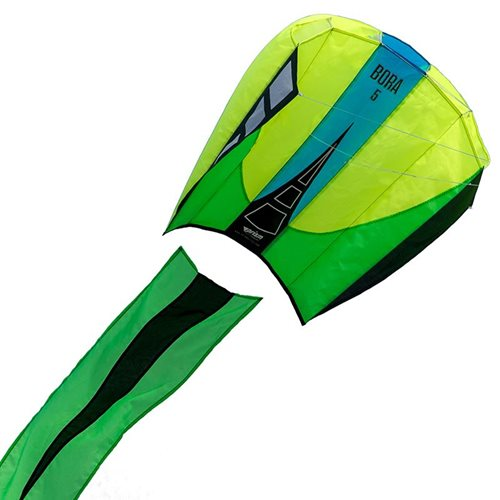 Prism Bora 5 Jade - Single Line Kite - Yellow/Green