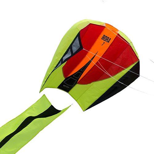 Prism Bora 7 Blaze - Vlieger - Eenlijner - Rood/Geel