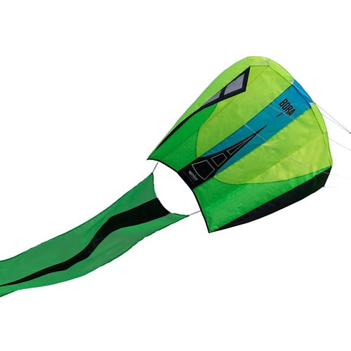 Prism Bora 7 Jade - Single Line Kite - Yellow/Green