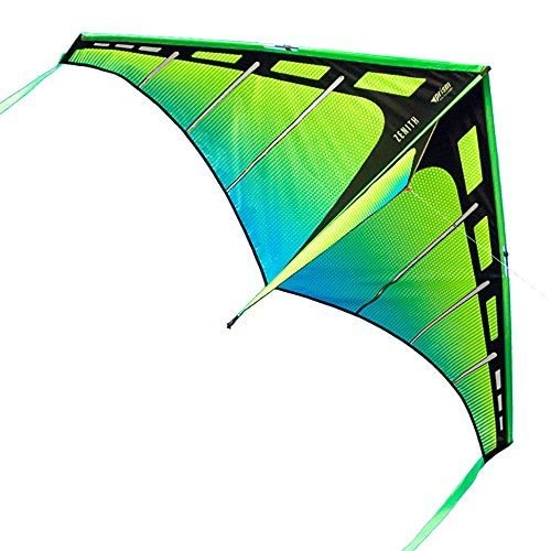 Prism Zenith 5 Aurora - Single Line Kite - Green