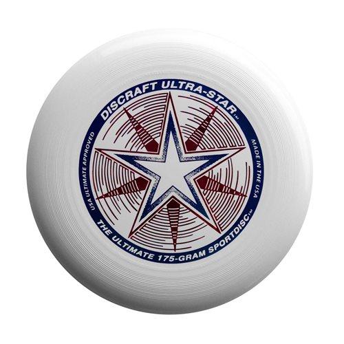 Discraft UltraStar - Frisbee - Weiß - 175 Gramm