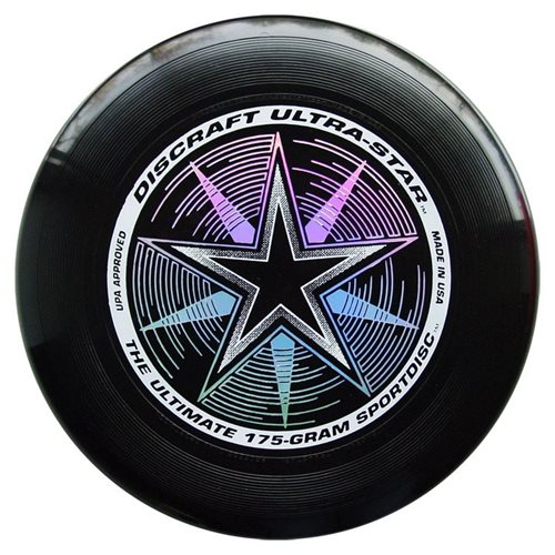 Discraft UltraStar - Frisbee - Schwarz - 175 Gramm
