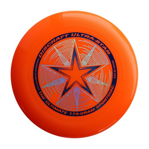 Discraft UltraStar - Frisbee - Orange - 175 grams