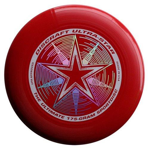 Discraft UltraStar - Frisbee - Donker Rood - 175 gram