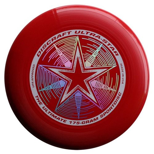 Discraft UltraStar - Frisbee - Dunkelrot - 175 Gramm