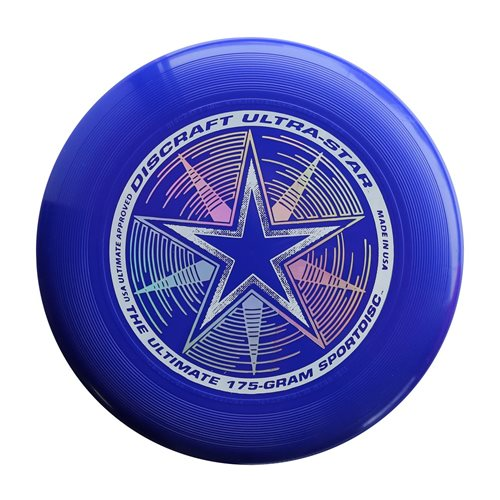 Discraft UltraStar - Frisbee - Donker Blauw - 175 gram
