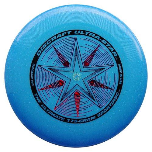 Discraft UltraStar - Frisbee - Blue Sparkle - 175 grams