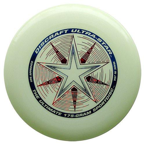 Discraft UltraStar - Frisbee - Nite Glo - Glow in the Dark - 175 grams