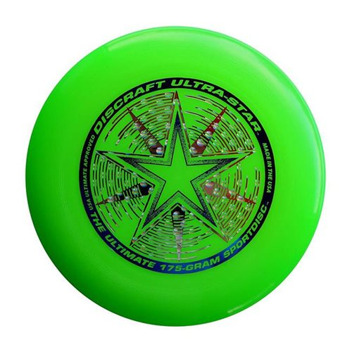 Discraft UltraStar - Frisbee - Grün - 175 Gramm