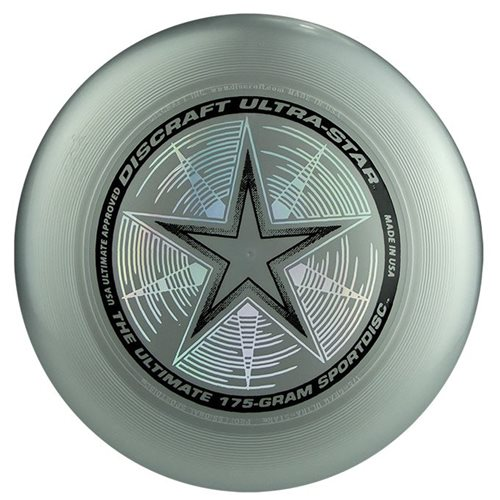 Discraft UltraStar - Frisbee - Silber - 175 Gramm