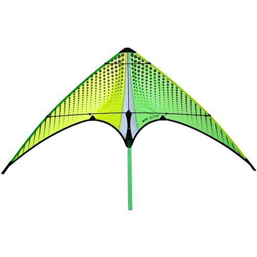 Prism Neutrino Citron - Vlieger - Stuntvlieger - Geel/Groen