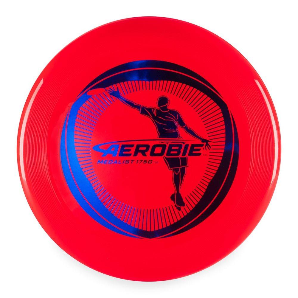 Aerobie Medalist - Frisbee - Rood - 175 gram