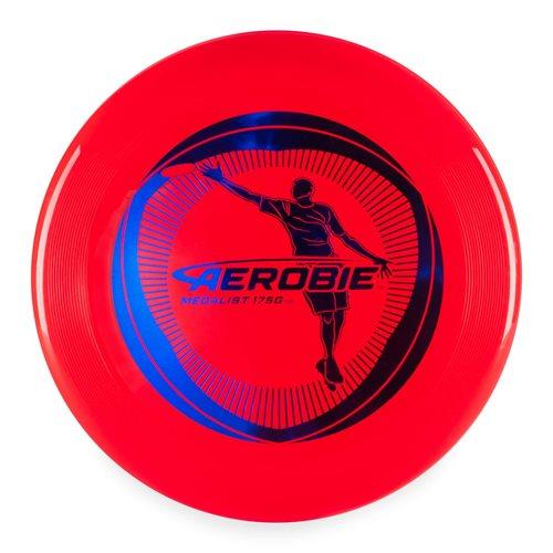 Aerobie Medalist - Frisbee Scheibe - Rot - 175 Gramm
