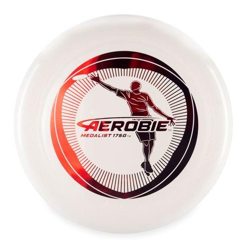 Aerobie Medalist - Frisbee Scheibe - Weiß - 175 Gramm