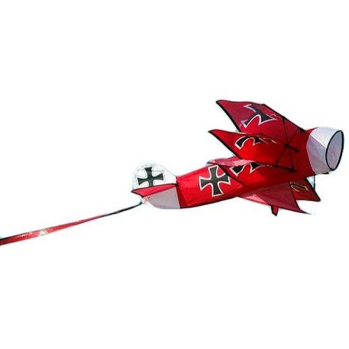 XKites 3D Rot Baron - Einleiner Drachen - Kinder