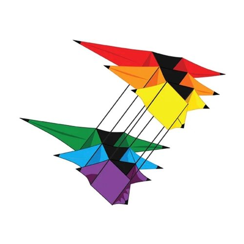 XKites Tristar - Single Line Kite - Kids