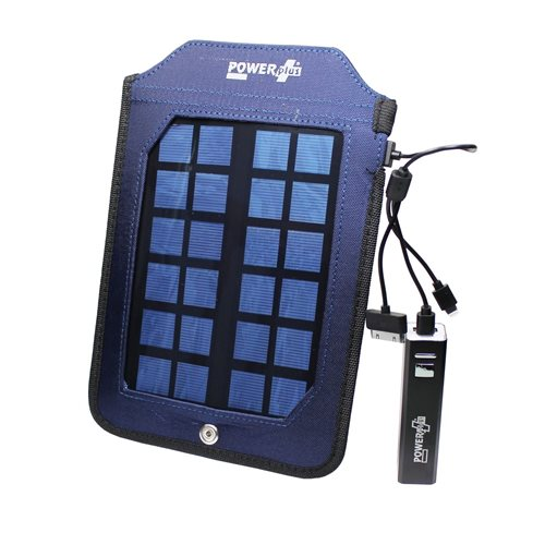PowerPlus Cobra - Solar USB Power Bank 2000 mAh - Multifunctional