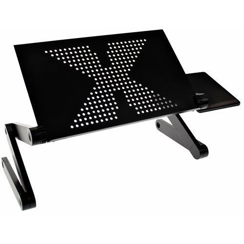 United Entertainment Multifunctionele Laptop Standaard - Zwart
