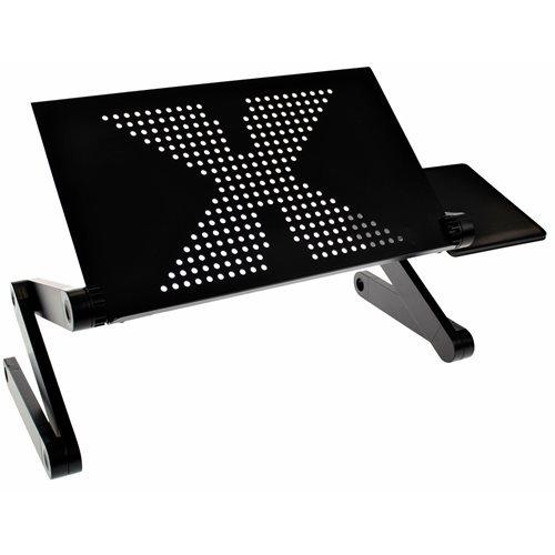 United Entertainment Multifunktional Laptop Ständer - Schwarz
