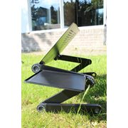 United Entertainment Multifunctional Laptop Stand - Black
