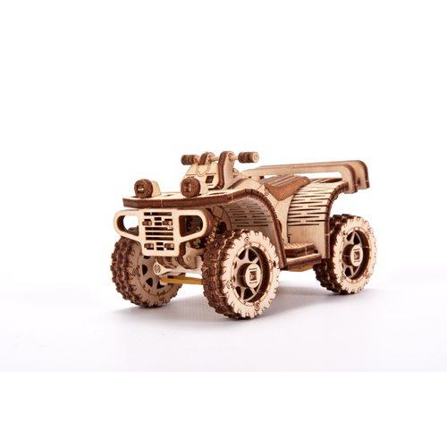 Wood Trick Wooden Model Kit - ATV